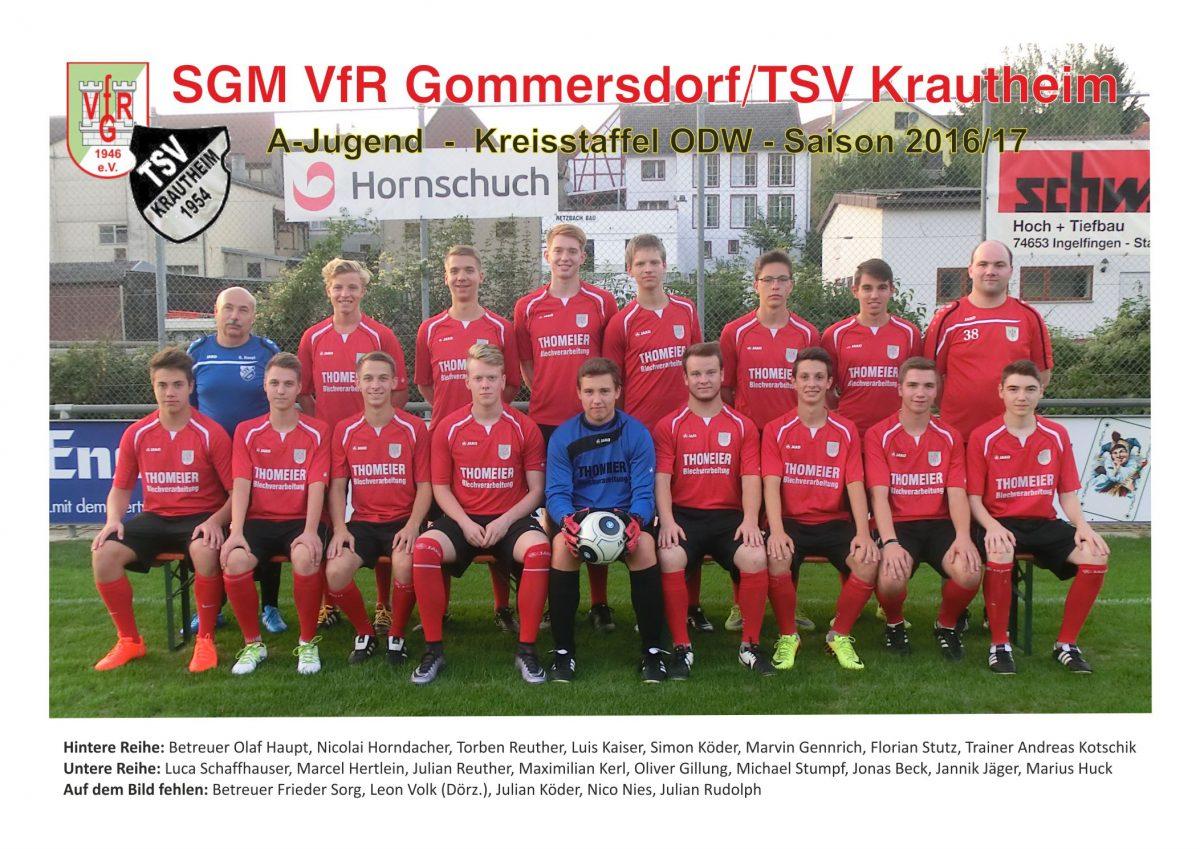 A-Jgd. unterliegt dem VfB Eppingen mit 1:3