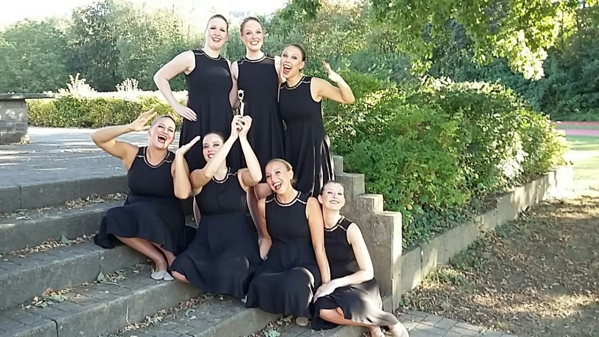 Red White Flames beim Hohenloher Dancecup 2016