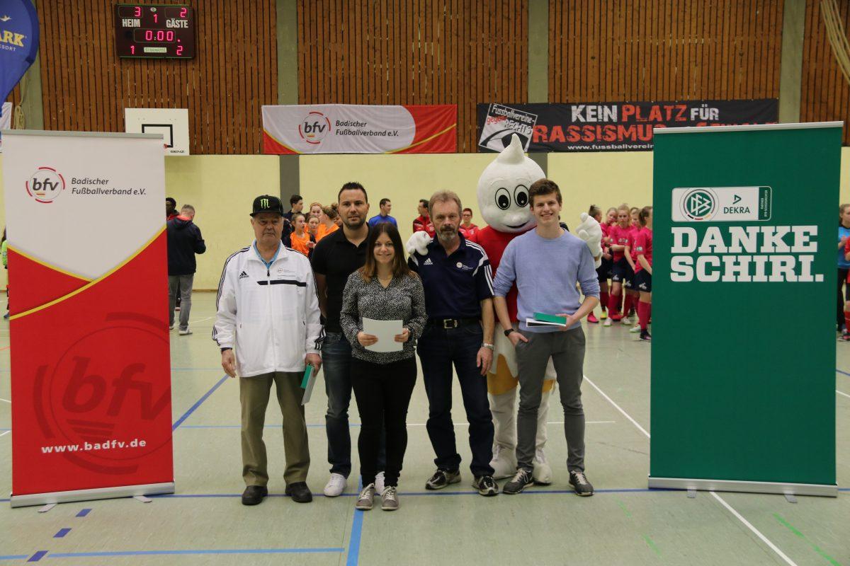 Julia Sturm erhielt Ehrung bei DFB-Aktion