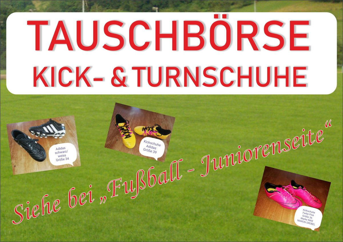 17. September: Kick- & Turnschuhbörse