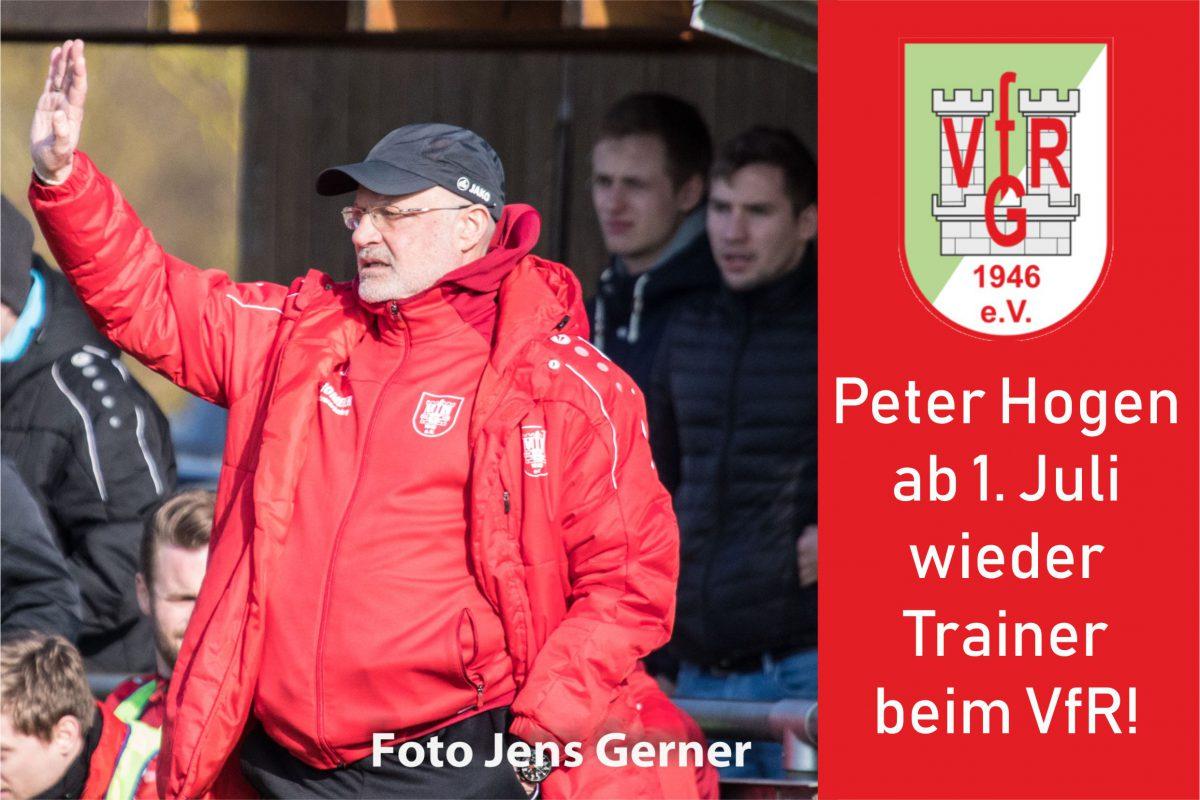2. Februar: Peter Hogen ab Juli neuer Trainer