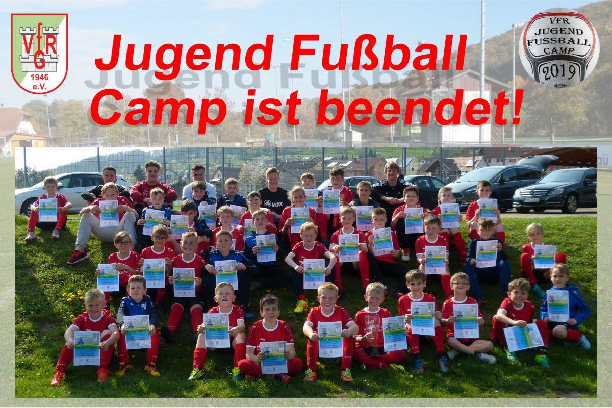 17. April: Jugend Fußball Camp beendet