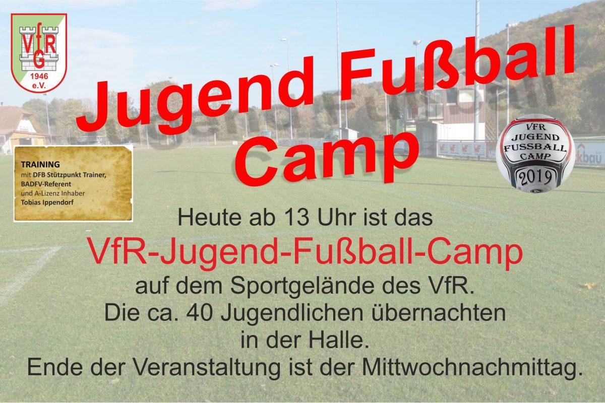 15. April: Start des VfR-Jugend-Fußball-Camp