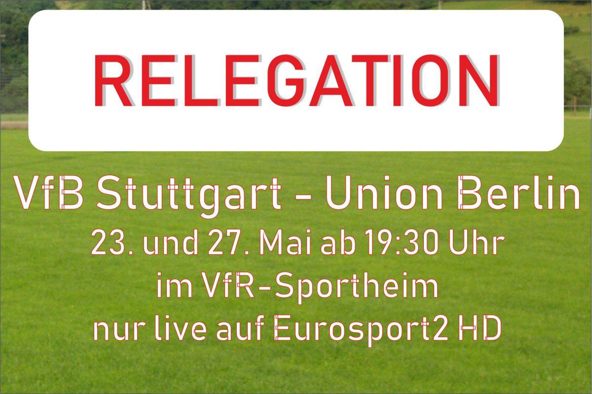 20. Mai: Donnerstag und Montag ab 19.30 Uhr Sportheim geöffnet