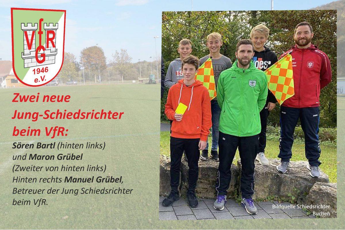26. November: Schiedsrichter Nummer 13 und 14 beim VfR