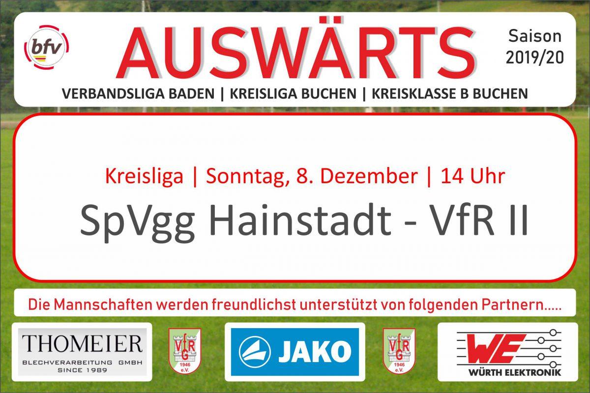 3. Dezember: Die Zweite zum Abschluss in Hainstadt