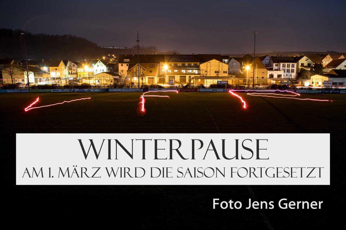 9. Dezember: Ab sofort ist Winterpause