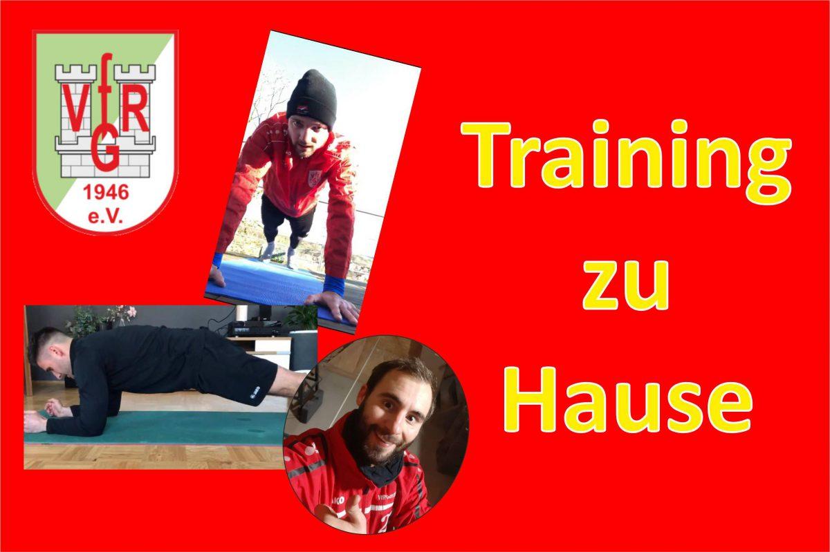 31. März: Ungewöhnliches Training in solchen Zeiten