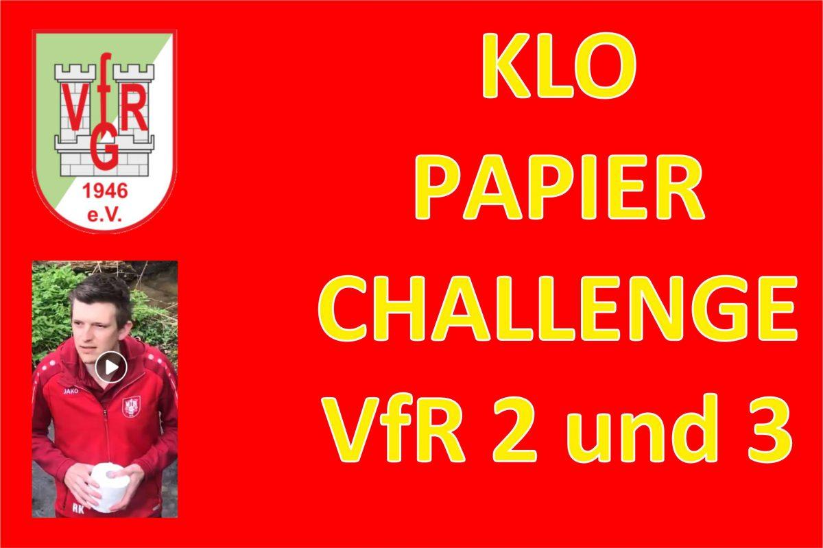 14. April: Challenge VfR 2 und 3