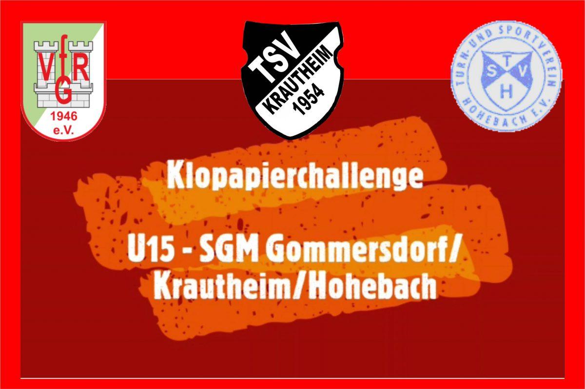 25. April: U15 Challenge