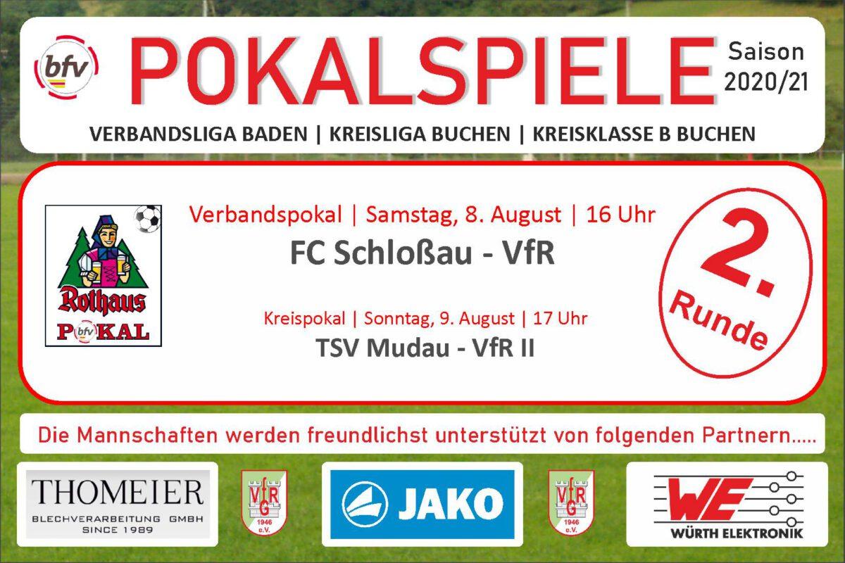4. August: Zwei Pokalspiele, eins am Samstag, eins am Sonntag