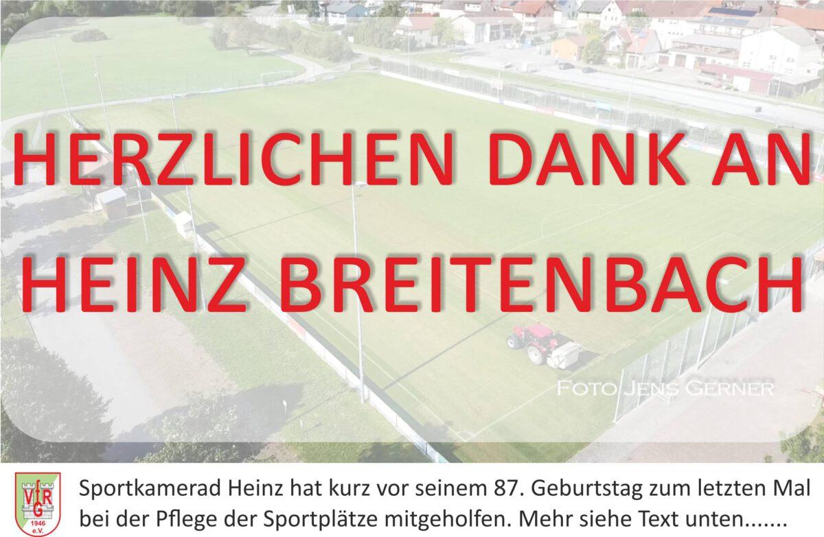 1. Oktober: Heinz Breitenbach beendete seine Tätigkeit