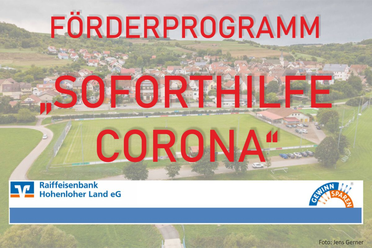 25. November: VfR erhält Corona-Soforthilfe