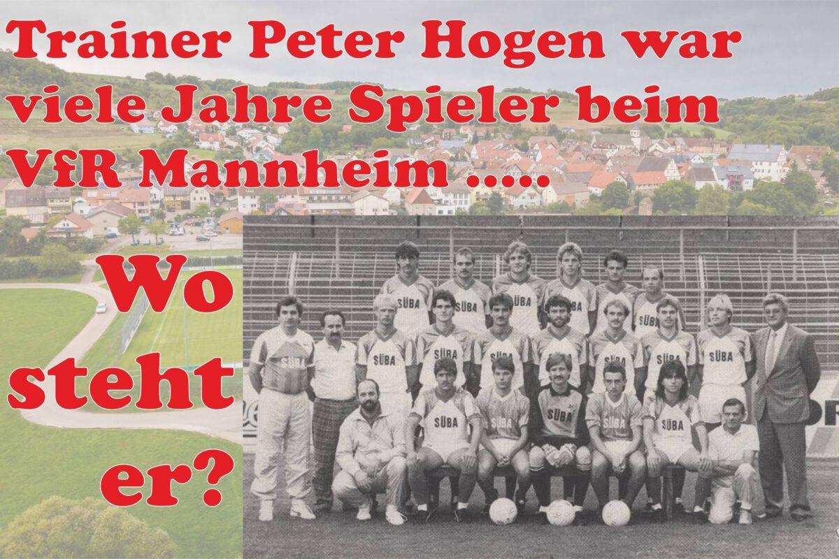 27. Januar: Trainer Peter Hogen steht wo?