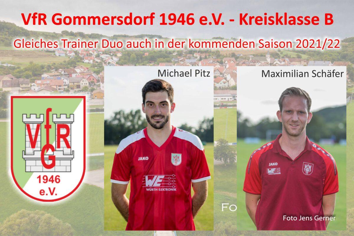 30. März: Weiter mit dem bewährten Trainer Duo Pitz-Schäfer