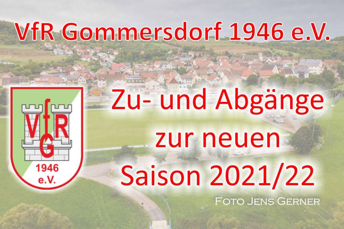 21. Mai: Zu- und Abgänge Saison 2021/22